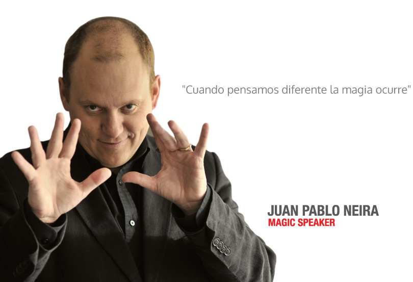 Juan Pablo Neira - Magic Speaker.